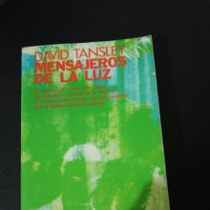 Libros de segunda mano: DAVID TANSLEY, MENSAJEROS DE LA LUZ. Lote 151462154