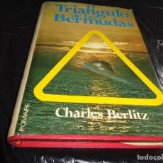 Libros de segunda mano: EL TRIANGULO DE LAS BERMUDAS CHARLES BERLITZ ED. POMAIRE.LMA. Lote 152397162