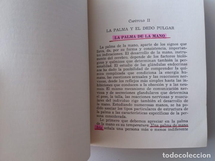 Libros de segunda mano: QUE DICEN TUS MANOS / E. VALERIN (ED. SINTES) - Foto 7 - 155489598