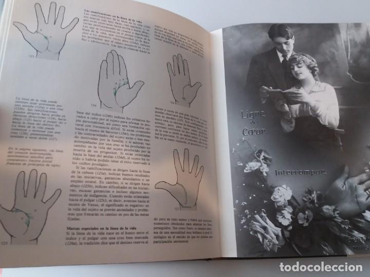 Libros de segunda mano: EL LIBRO DE LA MANO. PERSONALIDAD Y DESTINO A TRAVES DE LA QUIROMANCIA - Foto 3 - 155491258