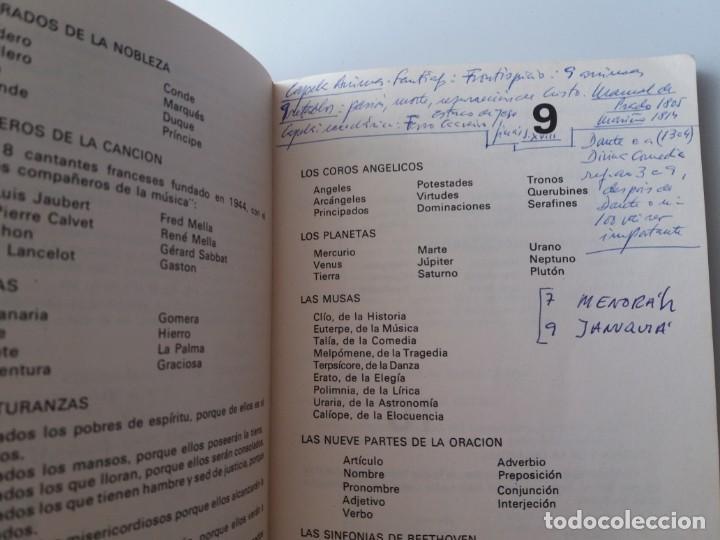 Gebrauchte Bücher: ENCICLOPEDIA DE LOS NUMEROS (M. ASENSIO MORENO) - Foto 4 - 155493686