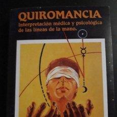 Libros de segunda mano: 1 LIBRO DE ** QUIROMANCIA . LINEAS DE LA MANO ** DR. KLAUS BERGMAN 1989 . 197 P.. Lote 156999994