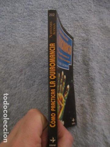Libros de segunda mano: Cómo practicar la quiromancia - Nathaniel Altman - Foto 3 - 157507070