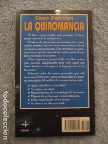 Libros de segunda mano: Cómo practicar la quiromancia - Nathaniel Altman - Foto 15 - 157507070