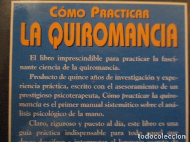 Libros de segunda mano: Cómo practicar la quiromancia - Nathaniel Altman - Foto 16 - 157507070