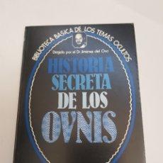 Libros de segunda mano - BIBLIOTECA BASICA DE LOS TEMAS OCULTOS Nº 16 historia secreta d los ovnis DR. JIMENEZ DEL OSO. TDK14 - 158607433