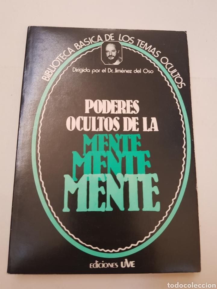 BIBLIOTECA BASICA DE LOS TEMAS OCULTOS Nº 2 PODERES OCULTOS DE LA MENTE DR. JIMENEZ DEL OSO. TDK14 (Libros de Segunda Mano - Parapsicología y Esoterismo - Ufología)