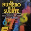 Libros de segunda mano: SU NÚMERO DE LA SUERTE.. Lote 158611242