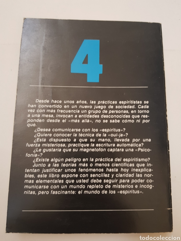 Libros de segunda mano: BIBLIOTECA BASICA DE LOS TEMAS OCULTOS Nº 4 manual de espiritismo DR. JIMENEZ DEL OSO. TDK14 - Foto 2 - 158611762
