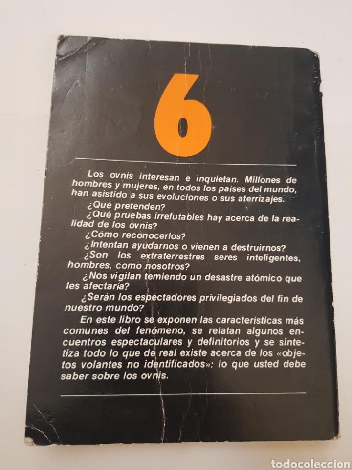 Libros de segunda mano: BIBLIOTECA BASICA DE LOS TEMAS OCULTOS Nº 6 ufologia todo sobre los ovnis DR. JIMENEZ DEL OSO. TDK14 - Foto 2 - 158612570