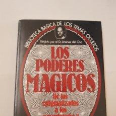 Libros de segunda mano - BIBLIOTECA BASICA TEMAS OCULTOS Nº 13 - los poderes magicos - DR. JIMENEZ DEL OSO. TDK14 - 158672542
