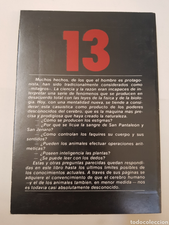 Libros de segunda mano: BIBLIOTECA BASICA TEMAS OCULTOS Nº 13 - los poderes magicos - DR. JIMENEZ DEL OSO. TDK14 - Foto 2 - 158672542