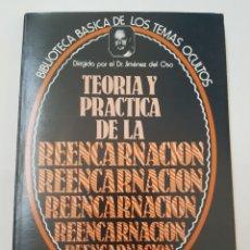 Libros de segunda mano: BIBLIOTECA TEMAS OCULTOS Nº 14 - TEORIA Y PRACTICA DE LA REENCARNACION - DR. JIMENEZ DEL OSO. TDK14. Lote 158673110