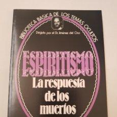 Libros de segunda mano - BIBLIOTECA TEMAS OCULTOS Nº 17 - espiritismo - la respuesta muertos - DR. JIMENEZ DEL OSO. TDK14 - 158673338