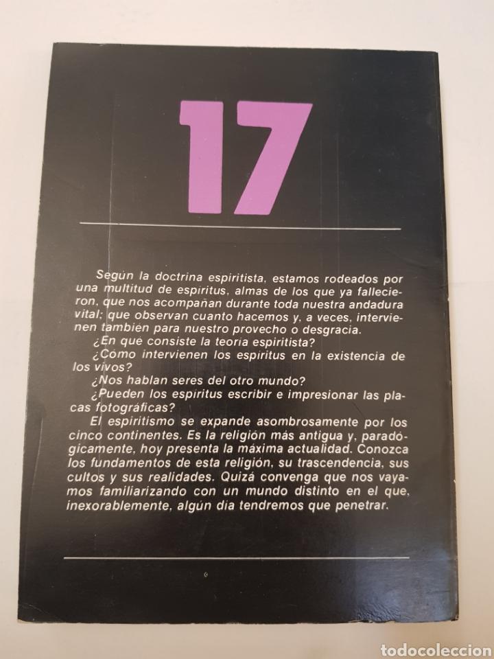 Libros de segunda mano: BIBLIOTECA TEMAS OCULTOS Nº 17 - espiritismo - la respuesta muertos - DR. JIMENEZ DEL OSO. TDK14 - Foto 2 - 158673338