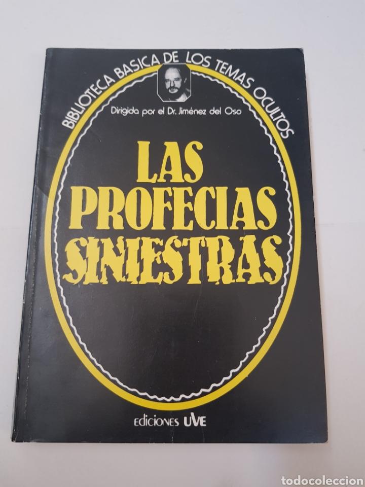 BIBLIOTECA TEMAS OCULTOS Nº 18 - PROFECIAS SINIESTRAS - DR. JIMENEZ DEL OSO. TDK14 (Libros de Segunda Mano - Parapsicología y Esoterismo - Ufología)