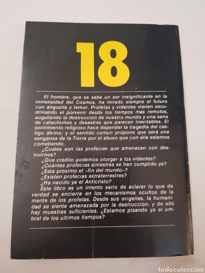 Libros de segunda mano: BIBLIOTECA TEMAS OCULTOS Nº 18 - profecias siniestras - DR. JIMENEZ DEL OSO. TDK14 - Foto 2 - 158673446