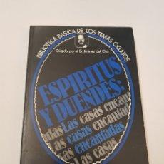 Libros de segunda mano: BIBLIOTECA TEMAS OCULTOS Nº 22 - ESPIRITUS Y DUENDES CASAS ENCANTADAS - DR. JIMENEZ DEL OSO. TDK14. Lote 158673682