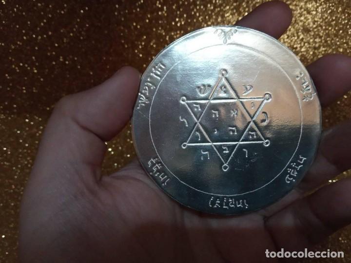 Libros de segunda mano: TODOS LOS PENTÁCULOS JUPITER, talla en metal, 7 talismanes Júpiter, cada uno de 8,5 cm de tamaño - Foto 4 - 160090790