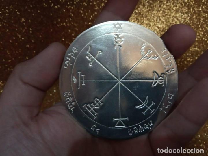Libros de segunda mano: TODOS LOS PENTÁCULOS JUPITER, talla en metal, 7 talismanes Júpiter, cada uno de 8,5 cm de tamaño - Foto 5 - 160090790