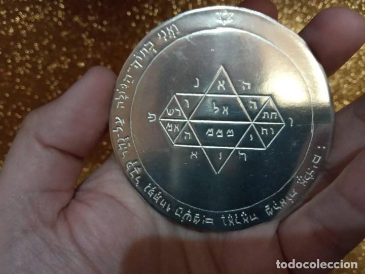 Libros de segunda mano: TODOS LOS PENTÁCULOS JUPITER, talla en metal, 7 talismanes Júpiter, cada uno de 8,5 cm de tamaño - Foto 7 - 160090790