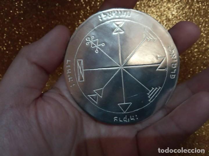 Libros de segunda mano: TODOS LOS PENTÁCULOS JUPITER, talla en metal, 7 talismanes Júpiter, cada uno de 8,5 cm de tamaño - Foto 8 - 160090790