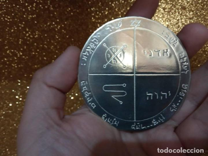 Libros de segunda mano: TODOS LOS PENTÁCULOS JUPITER, talla en metal, 7 talismanes Júpiter, cada uno de 8,5 cm de tamaño - Foto 9 - 160090790