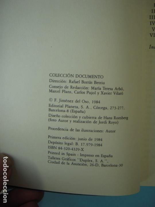 Libros de segunda mano: EL SINDROME OVNI - FERNANDO JIMENEZ DEL OSO - EDITORIAL PLANETA, 1984, 1ª EDICION (MUY BUEN ESTADO) - Foto 3 - 160153562