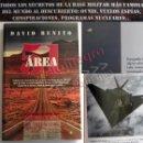 Libros de segunda mano: ÁREA 51 - LIBRO DAVID BENITO MISTERIO UFOLOGÍA ZONA MILITAR SECRETOS BASE OVNIS CONSPIRACIONES EEUU. Lote 163979098