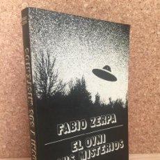 Libros de segunda mano: EL OVNI Y SUS MISTERIOS - FABIO ZERPA - EPILOGO DE ANTONIO RIBERA - NAUTA - ILUSTRADO - MUY ESCASO. Lote 164070146