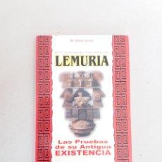 Libros de segunda mano: EL CONTINENTE PERDIDO DE LEMURIA SCOTT ELLIOT. Lote 165772666