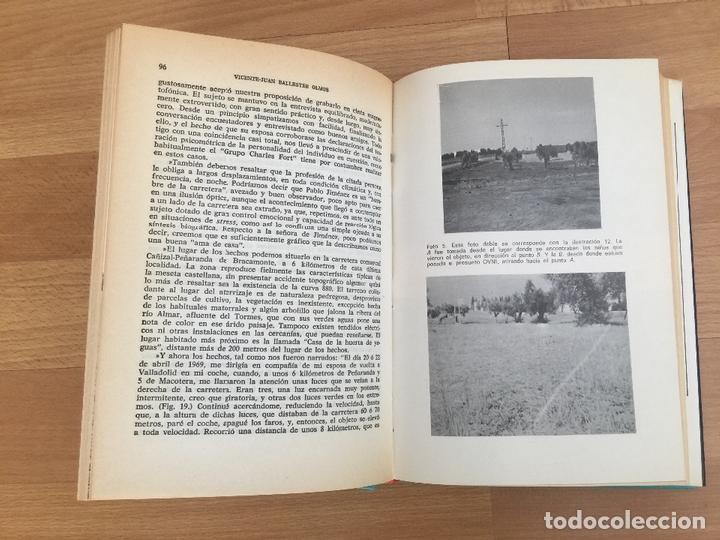 Libros de segunda mano: OVNIS: EL FENOMENO ATERRIZAJE - V. J. BALLESTEROS OLMOS - TAPA DURA, SOBRECUBIERTA - PLAZA &JANES - Foto 3 - 166763530