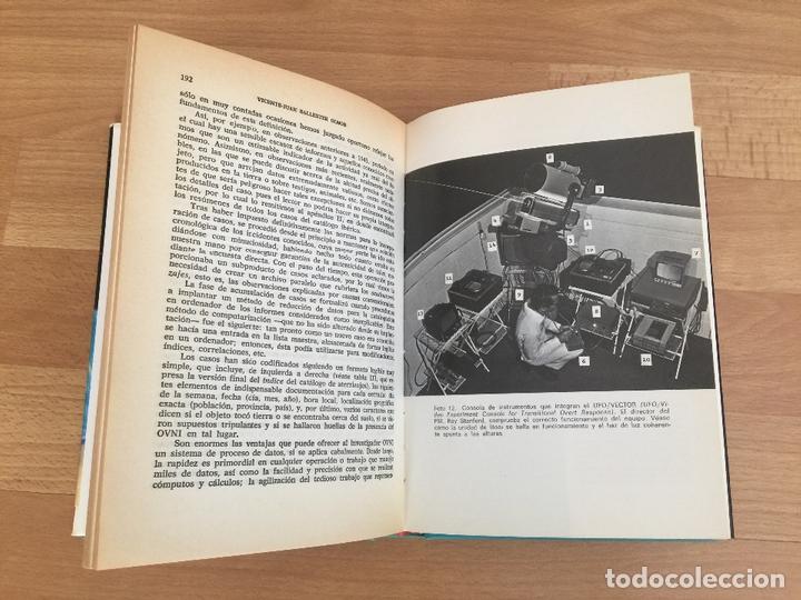 Libros de segunda mano: OVNIS: EL FENOMENO ATERRIZAJE - V. J. BALLESTEROS OLMOS - TAPA DURA, SOBRECUBIERTA - PLAZA &JANES - Foto 4 - 166763530