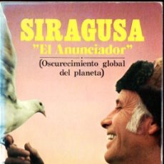 Libros de segunda mano: VICTORINO DEL POZO : SIRAGUSA EL ANUNCIADOR (EYRAS, 1979) . Lote 166824526