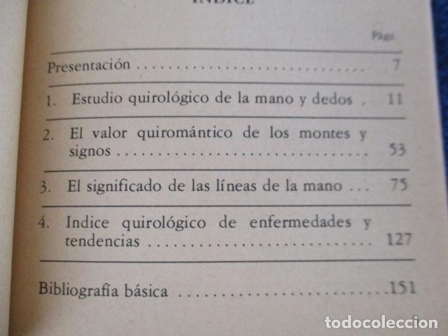 Libros de segunda mano: Quiromancia. El futuro en sus manos (Biblioteca Básica de los Temas Ocultos, 7) - José Antonio Sanju - Foto 9 - 168083284