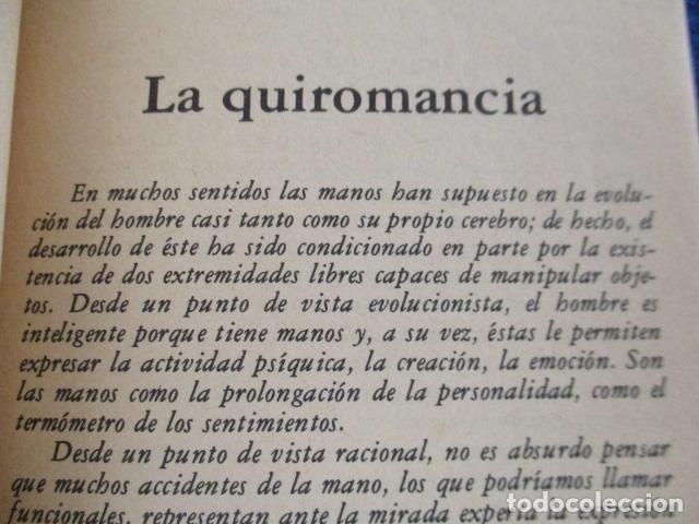 Libros de segunda mano: Quiromancia. El futuro en sus manos (Biblioteca Básica de los Temas Ocultos, 7) - José Antonio Sanju - Foto 13 - 168083284