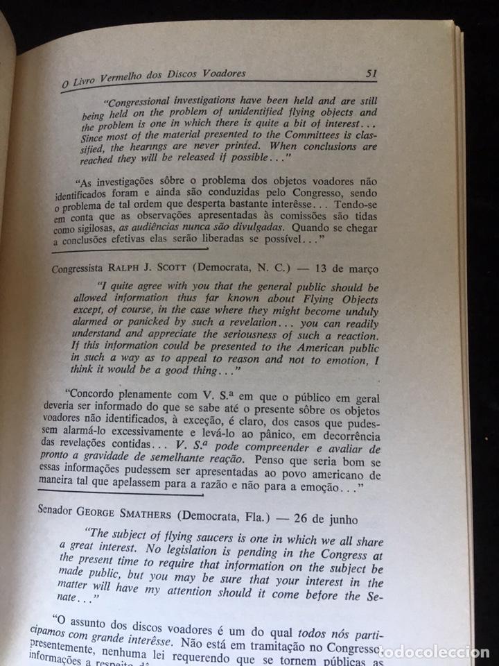 Libros de segunda mano: O LIVRO VERMELHO DOS DISCOS VOADORES - FLAVIO PEREIRA - OVNIS - ILUSTRADO - Foto 4 - 168468769