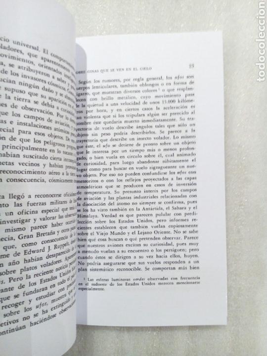 Libros de segunda mano: SOBRE COSAS QUE SE VEN EN EL CIELO CARL GUSTAV JUNG 1961 UFOLOGIA OVNIS - Foto 6 - 239485340