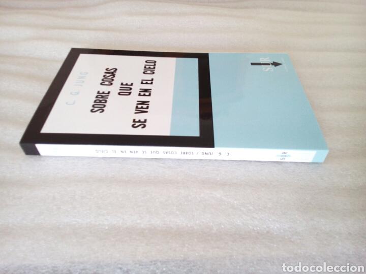 Libros de segunda mano: SOBRE COSAS QUE SE VEN EN EL CIELO CARL GUSTAV JUNG 1961 UFOLOGIA OVNIS - Foto 10 - 239485340