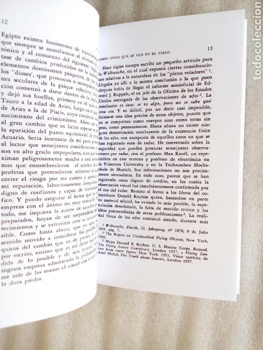 Libros de segunda mano: SOBRE COSAS QUE SE VEN EN EL CIELO CARL GUSTAV JUNG 1961 UFOLOGIA OVNIS - Foto 12 - 239485340