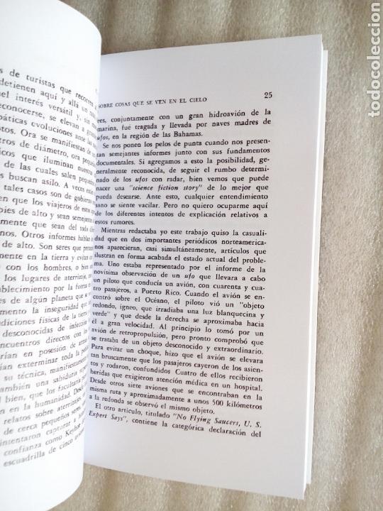 Libros de segunda mano: SOBRE COSAS QUE SE VEN EN EL CIELO CARL GUSTAV JUNG 1961 UFOLOGIA OVNIS - Foto 2 - 239485340