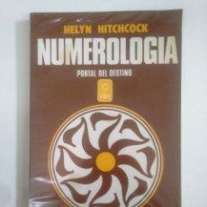 Libros de segunda mano: NUMEROLOGIA. HELYN HITCHCOK. PORTAL DEL DESTINO. TDK388. Lote 170301076