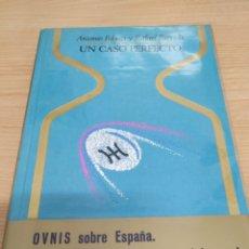 Libros de segunda mano: UN CASO PERFECTO. ANTONIO RIBERA Y RAFAEL FARRIOLS. 5 EDICIÓN 1976. Lote 170545129