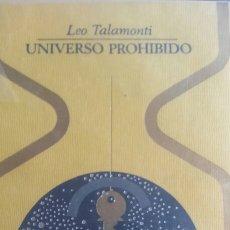 Libros de segunda mano: UNIVERSO PROHIBIDO. Lote 171084135