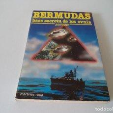 Libros de segunda mano: BERMUDAS BASE SECRETA DE LOS OVNIS.JEAN PRACHAN. Lote 171336749