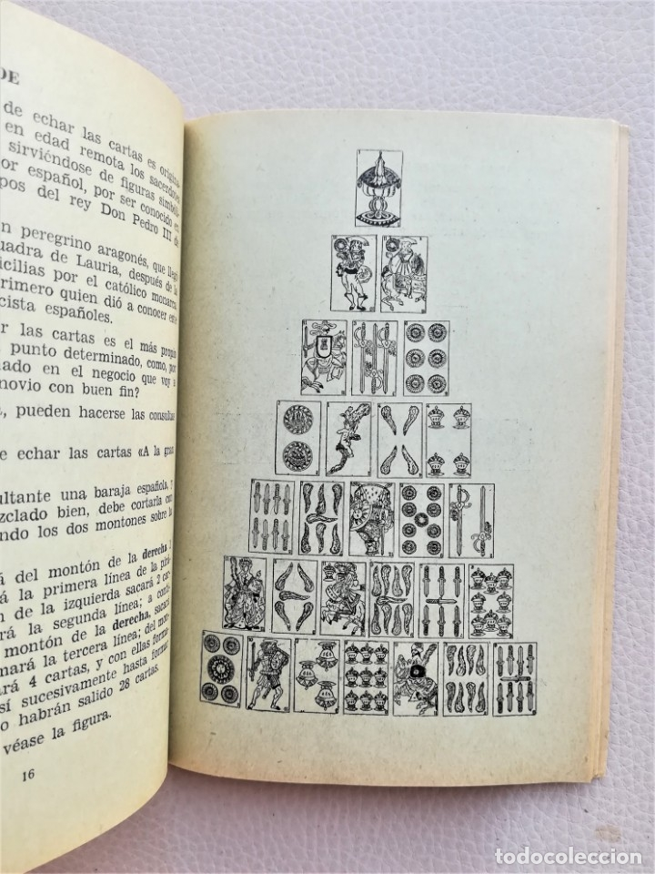 Libros de segunda mano: LIBRO,CARTOMANCIA SUPREMA, AÑOS 30-40,TEMA LENGUAJE DE LAS CARTAS,QUIROMANCIA,TEMAS ESOTERICOS,RARO - Foto 2 - 172905463
