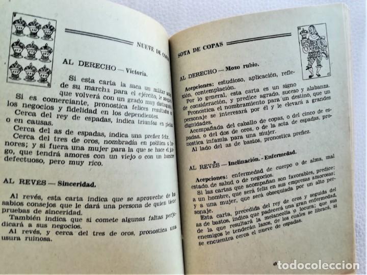 Libros de segunda mano: LIBRO,CARTOMANCIA SUPREMA, AÑOS 30-40,TEMA LENGUAJE DE LAS CARTAS,QUIROMANCIA,TEMAS ESOTERICOS,RARO - Foto 3 - 172905463