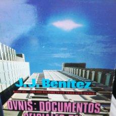 Libros de segunda mano: OVNIS DOCUMENTOS OFICIALES DEL GOBIERNO ESPAÑOL JJ BENITEZ. TAPA DURA CON SOBRECUBIERTA, 1978. Lote 175682727