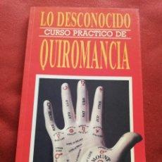 Libros de segunda mano: CURSO PRÁCTICO DE QUIROMANCIA. QUIROMANCIA: EL FUTURO EN SUS MANOS (DR. JIMÉNEZ DEL OSO). Lote 176255665