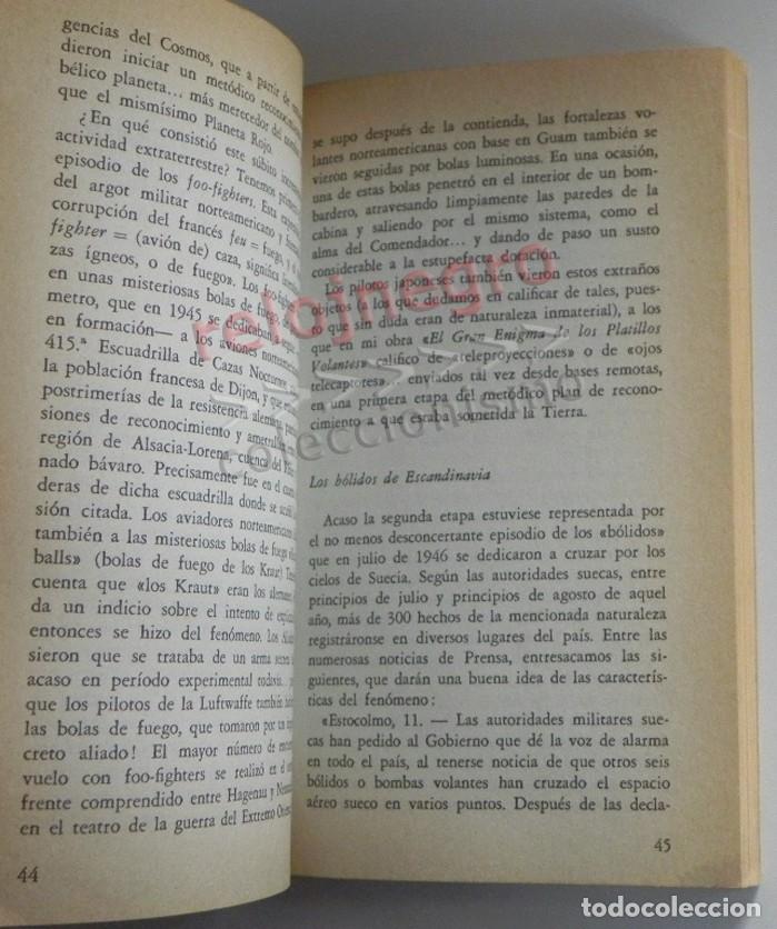 Libros de segunda mano: PROCESO A LOS OVNI - LIBRO ANTONIO RIBERA - OVNIS UFOLOGÍA EXTRATERRESTRES MISTERIO PLATILLOS DOPESA - Foto 6 - 176646883